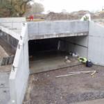 Concrete Box Culvert Assembly at Inchya Road | Shay Murtagh Precast