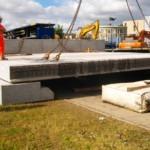 Bridge Beams for Gas Works Access Bridge | Shay Murtagh Precast