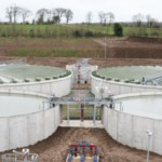 Waterford WWTP – Postensioned concrete storage tanks with Coffey Construction Ltd | Shay Murtagh Precast
