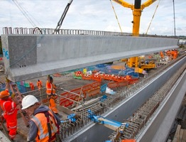 Shay Murtagh Precast Ltd. - Reading project