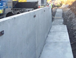 Shay Murtagh Precast Ltd. - Retaining Walls