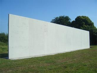 Castlepollard GAA Hurling Football Club Sport Wall Shay Murtagh Precast Concrete