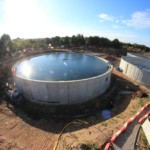 Final Settlement Tanks for Chorley Wastewater Treatment Works | Shay Murtagh Precast