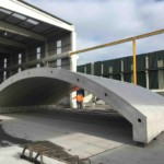 Bridge beams and cill units for the Ordsall Chord works Northern Hub | Shay Murtagh Precast