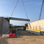 Specialist Concrete Beams, Saltend Waste Water Treatment Works, Hull. | Shay Murtagh Precast
